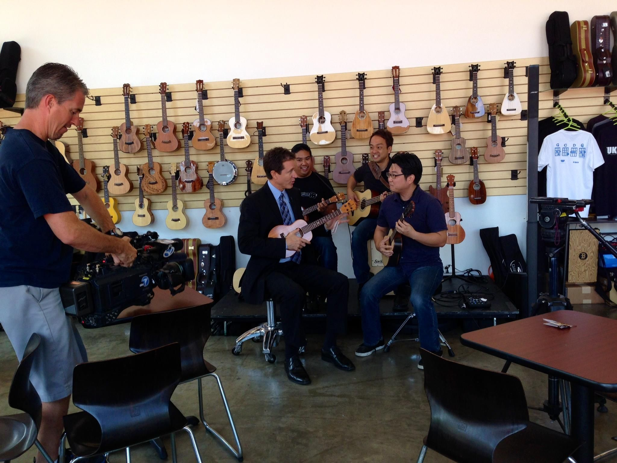 Come out a see the new Ohana Bongolele - just premiered on ABC7 - tomorrow morning at L.A. Ukulele Expo!