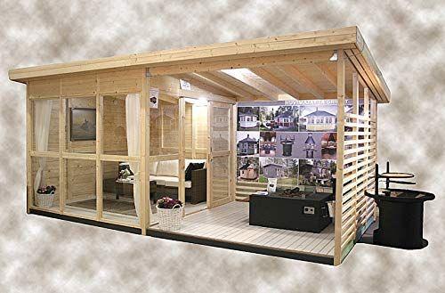 Amazon Com Allwood Solvalla 172 Sqf Studio Cabin Kit 400 x 300