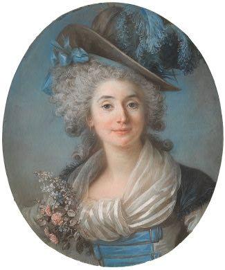 Adelaide Labille-Guiard  Marie-Josephe-Felicite de La Rochefoucauld, Vicomtesse de Gand, 1787