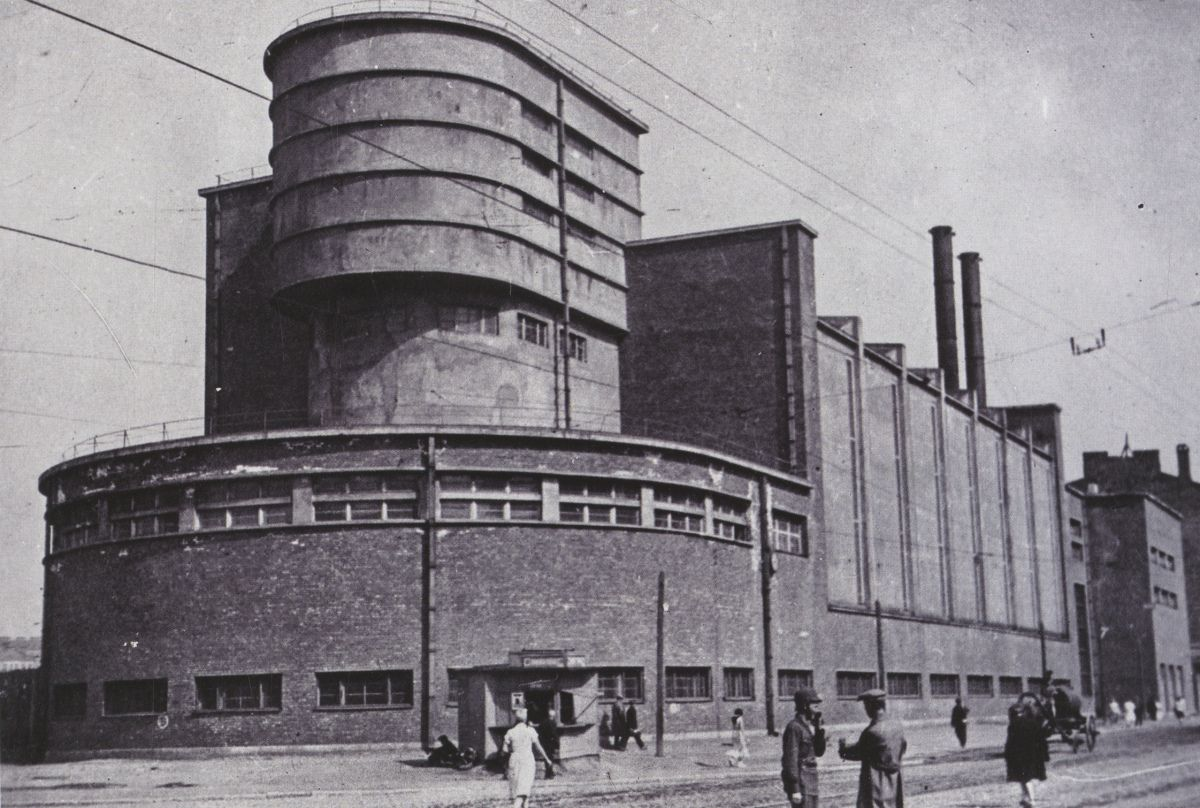 German Expressionist Architect Erich Mendelsohns Red Banner Textile Factory In Leningrad1930s
