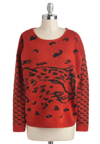 Learn to Jungle Sweater, #ModCloth