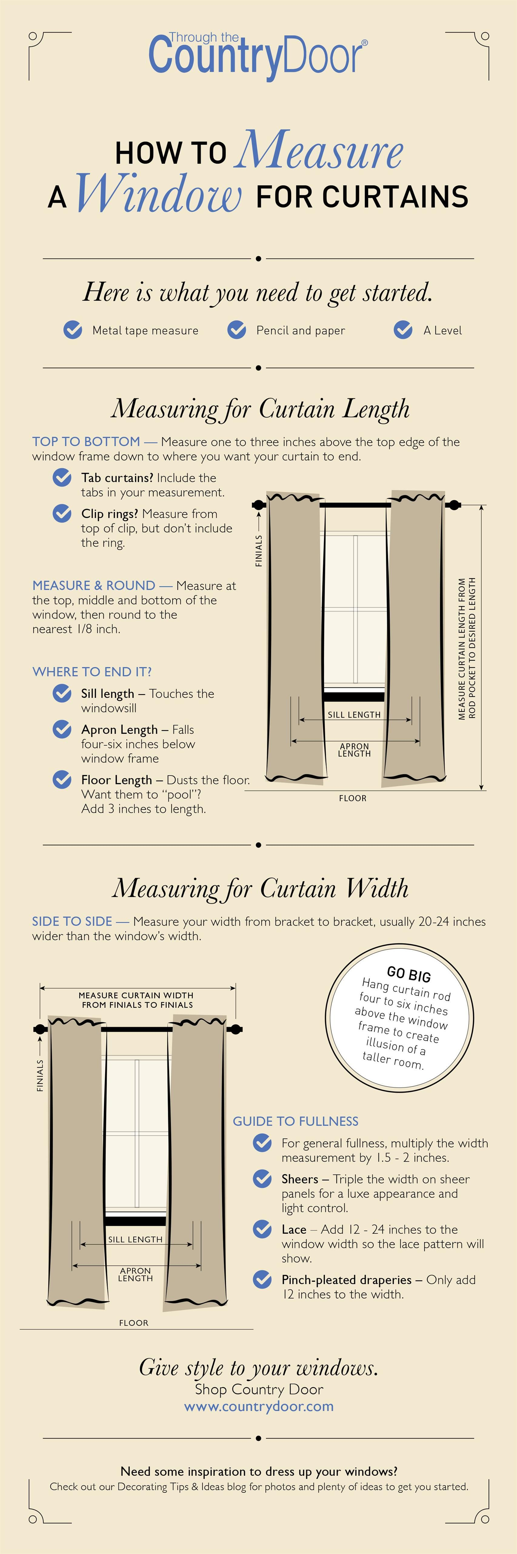 How To Measure A Window For Curtains Diy Curtains Curtains Window Treatments Curtains