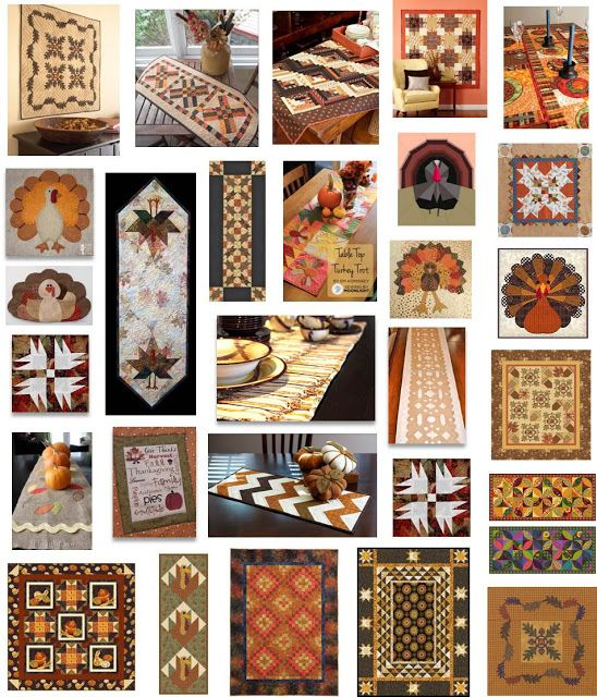 Quilt Inspiration: Free pattern day ! Thanksgiving | Quilt_Craft ... : free thanksgiving quilt patterns - Adamdwight.com