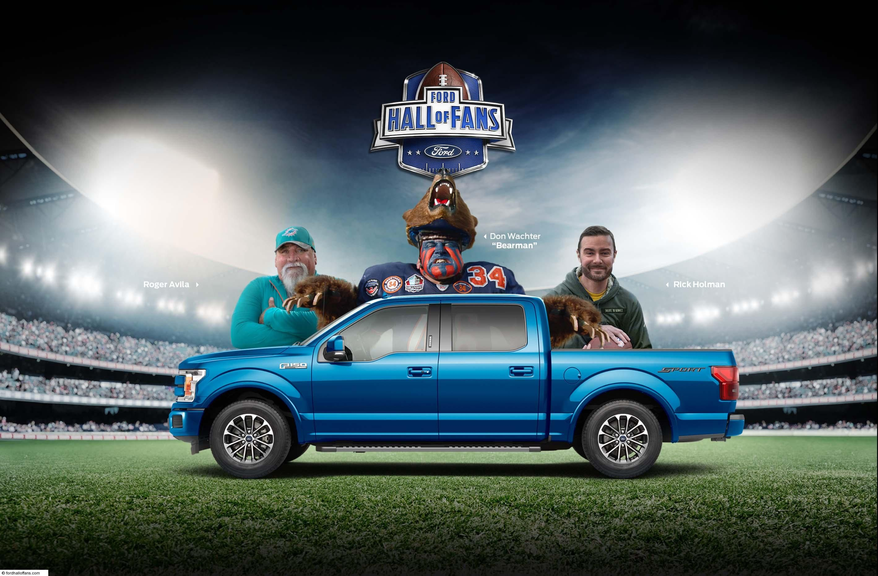 FORD FOOTBALL HALL OF FANS CONTEST in 2020 Win a trip