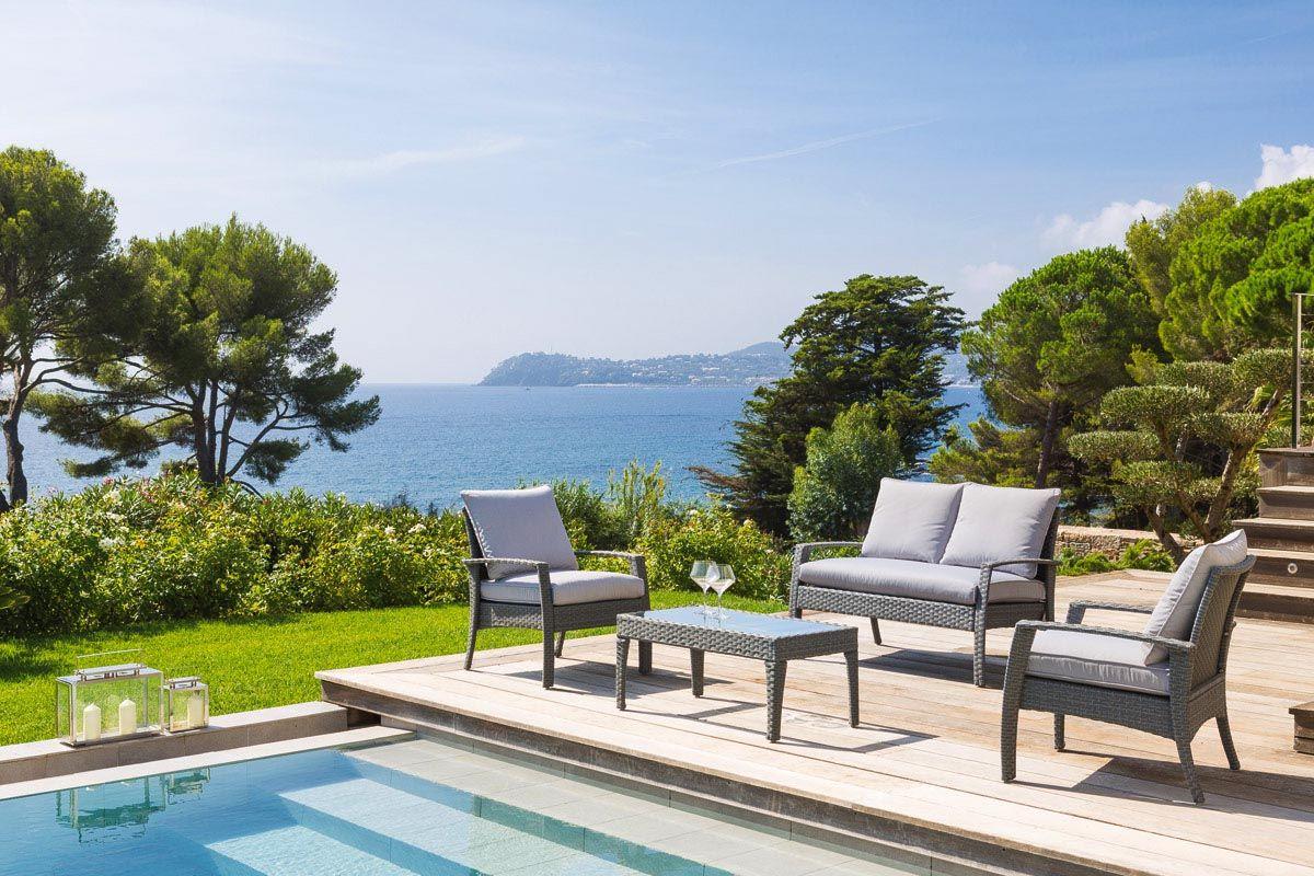 Beautiful Salon De Jardin Rotin Synthetique Collection Corona Balcon ...