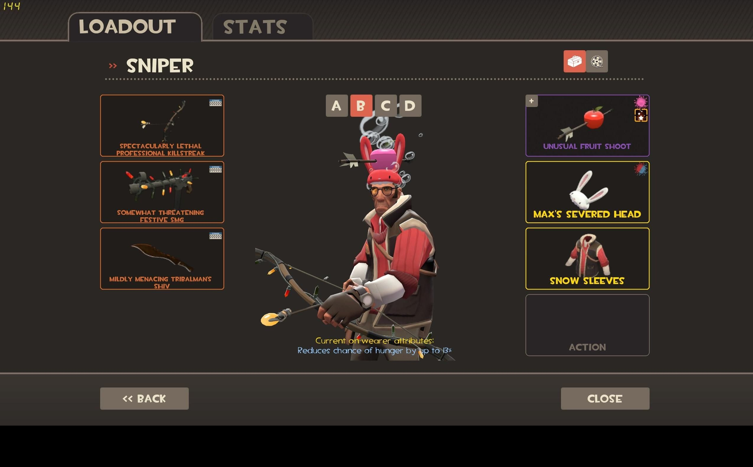 Fruit shoot game - I Thought That The Max S Severed Head Hat Worked Well With The Fruit Shoot