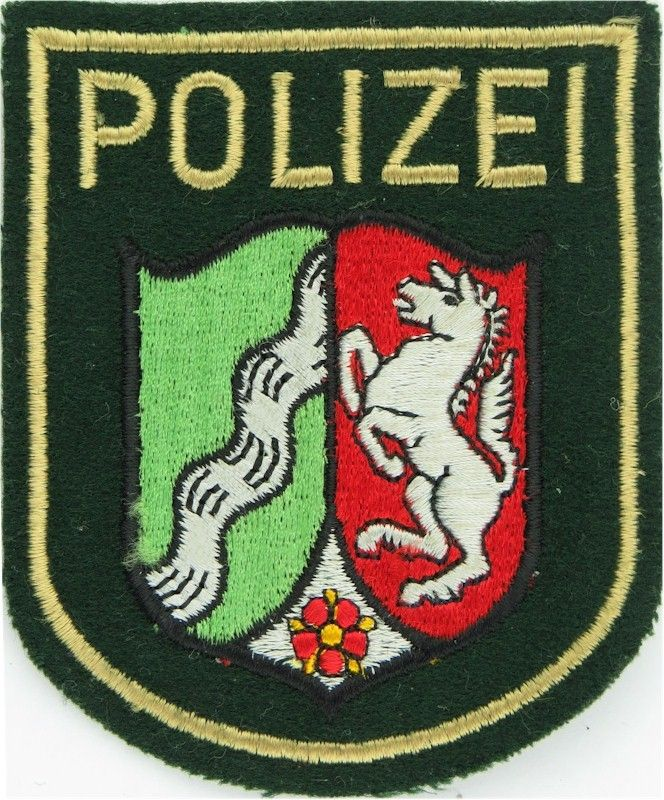 Flaggen Aufn/äher Patch Nordrhein NRW NEU Westfalen