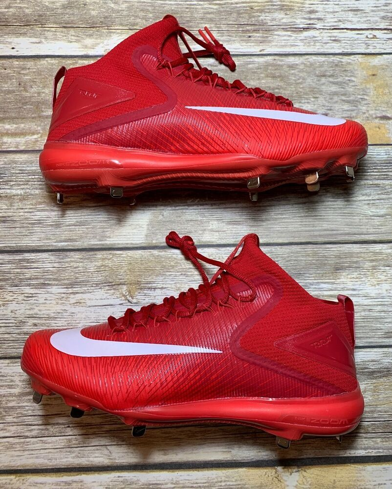 b60849053 Nike MIKE TROUT 3 Pro Crimson Red Metal Baseball Cleats Mens 13  856503  667   Nike