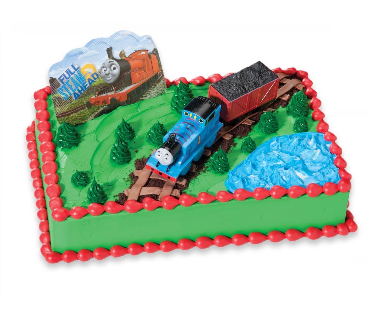 thomas sheet cake lincolns 2nd birthday pinterest