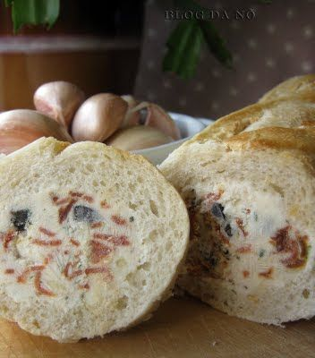 Blog da Nô: Stuffed Baguette