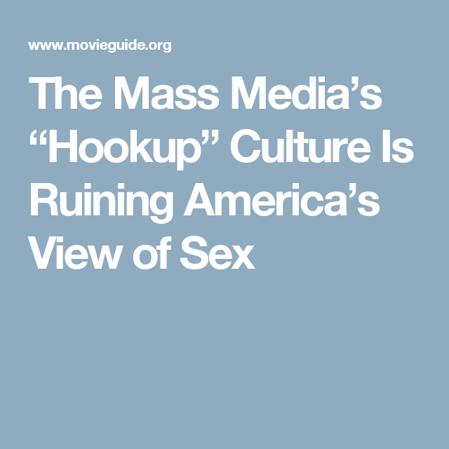 What Is American Hookup Culture Ppt Presentation