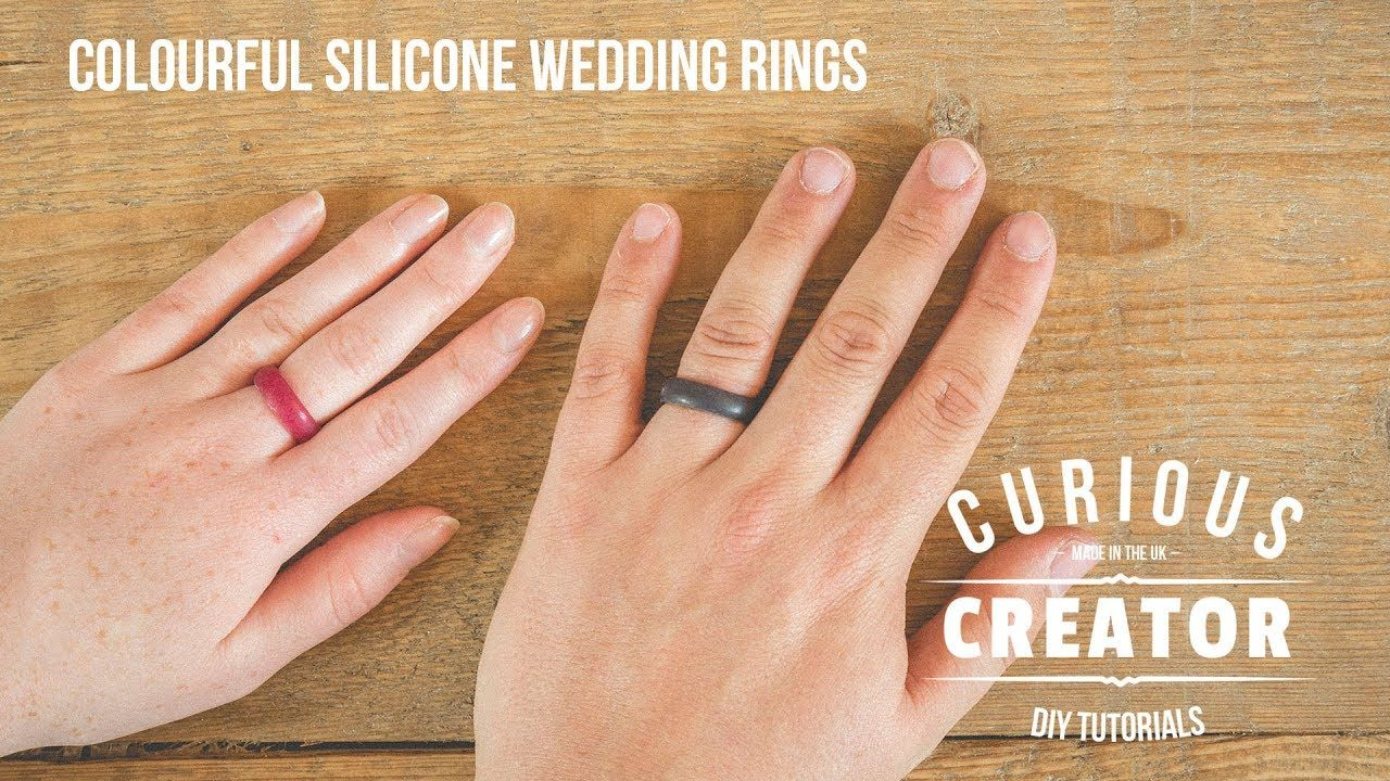 DIY Silicone Wedding Rings handmade crafts HowTo DIY