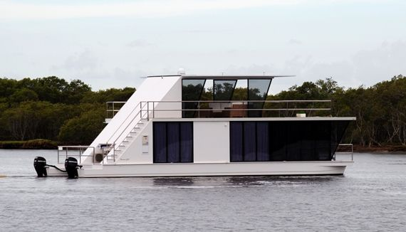 modern house boat captivating with image of modern houseboat plans