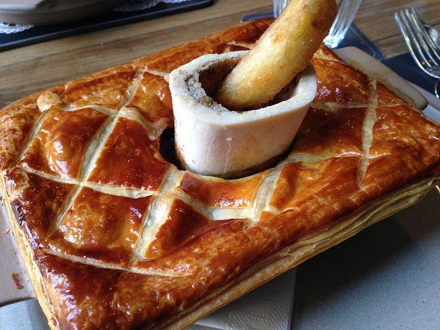 Scran & Scallie Steak Pie with Chips! | Edinburgh scotland ...