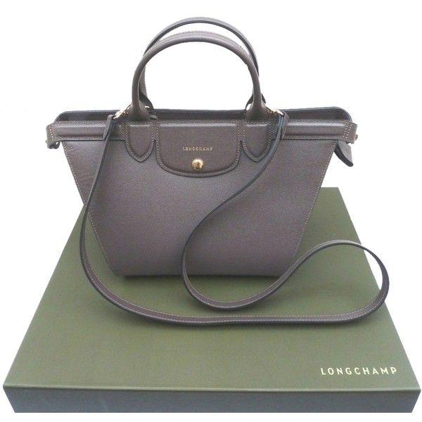 07a41e3c5b6a Pre-owned Longchamp Le Pliage Heritage Grey Leather Medium Tote Bnib... (