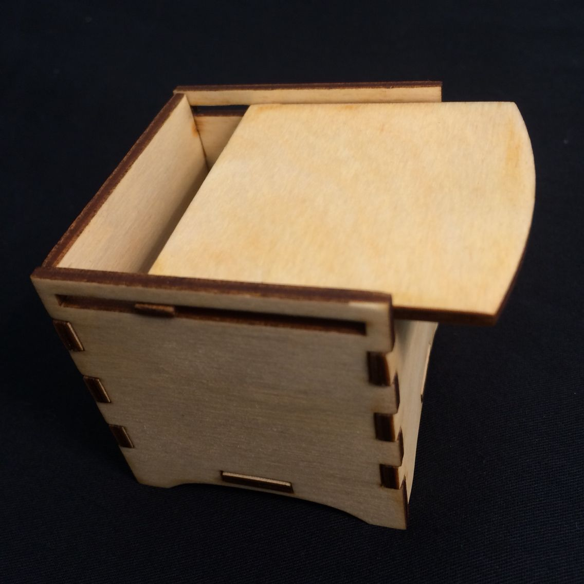Snap together laser box | Student Laser Boxes | Laser cut