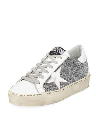 db1731e7ea722 Golden Goose Hi Star Glitter Sneakers in 2019 | Products | Sneakers ...