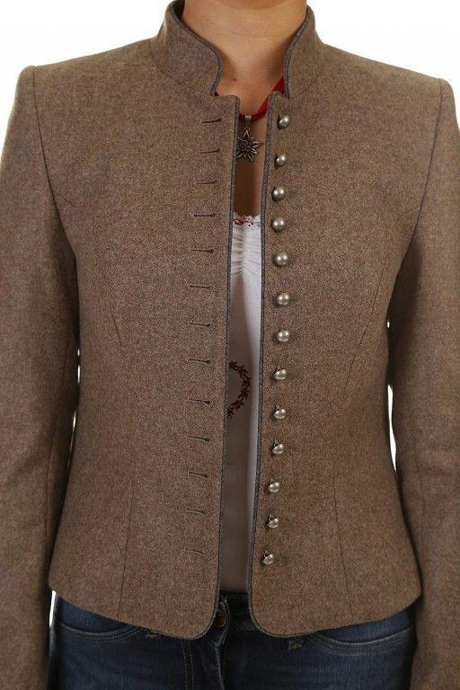 Traditional jacket ladies beige Gmund Hammerschmid   #beige #Damen-Outfits #Damen-OutfitsfürdenSomme...