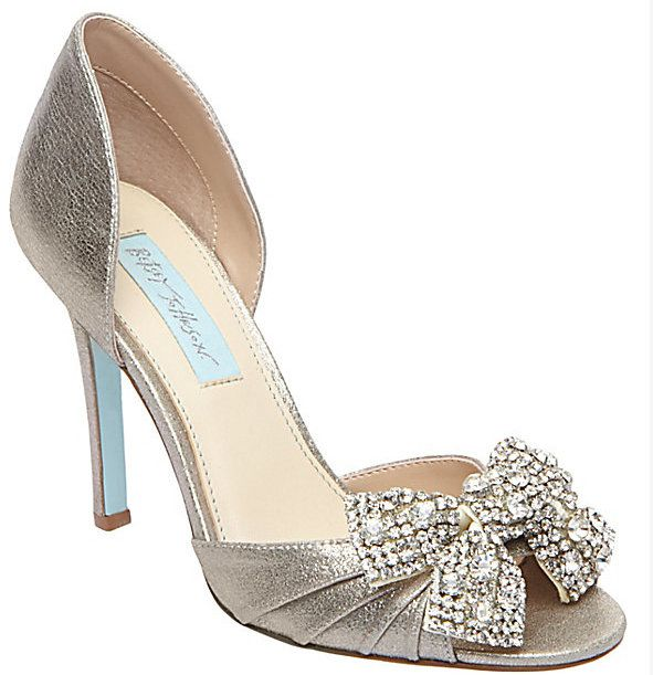 17 Best images about Betsey Johnson Bridal and Evening Shoes on ...