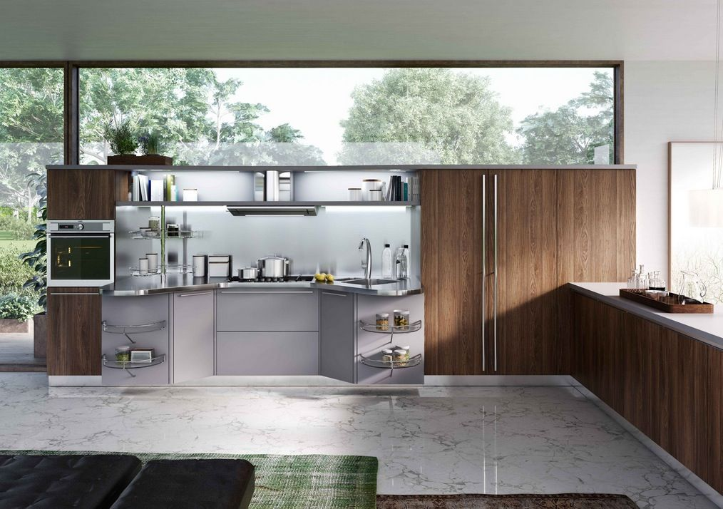Italian Kitchen Designers Italian Designers Snaidero Specialize In Kitchens That Cater To
