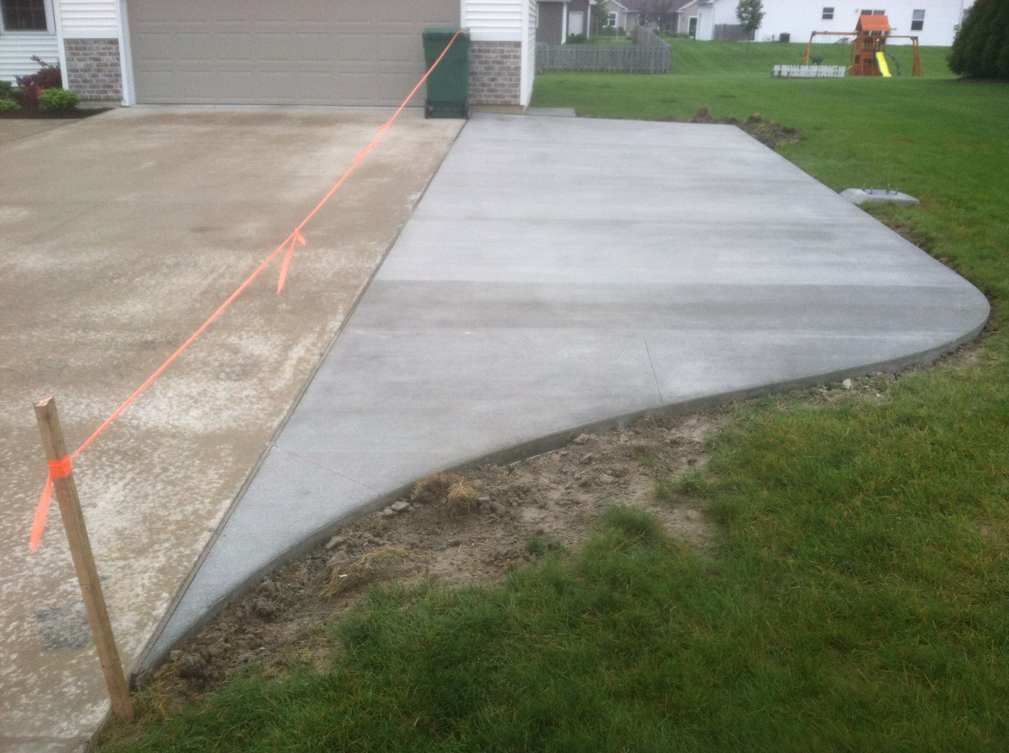 driveway addition my concrete jobs pinterest