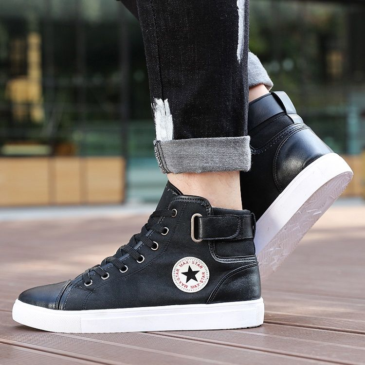 New Arrive Men Causal Shoes Autumn Winter Front LaceUp Leather Ankle Boots Shoes Man Casual High Top Canvas Men   Coins Shopy is part of Shoes mens - Buy New Arrive Men Causal Shoes Autumn Winter Front LaceUp Leather Ankle Boots Shoes Man Casual High Top Canvas Men   Shop NOW! Do not Miss! Up to 50% discount on all products and free shipping  It's time to shop! Online Shopping is the Best Quality and Cheapest from the Earth's; Selection of Technology, Men & Women Clothing, Shoes & Accessories, Home, Kitchen & Life Style, Beauty & Care, Crypto Products