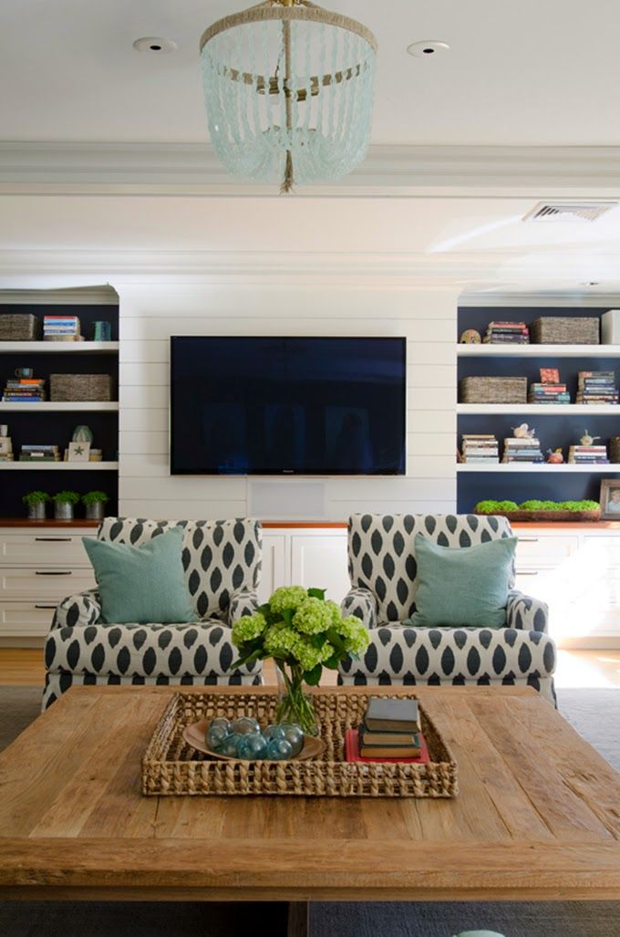 family room Olson Lewis Architects and