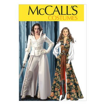 McCall\'s Pattern M6819-Collared Coat, Top, Corset and Belt | "|350|350|?|en|2|328cf1a0223c2070bbb3a151031a1829|False|UNLIKELY|0.3777494430541992