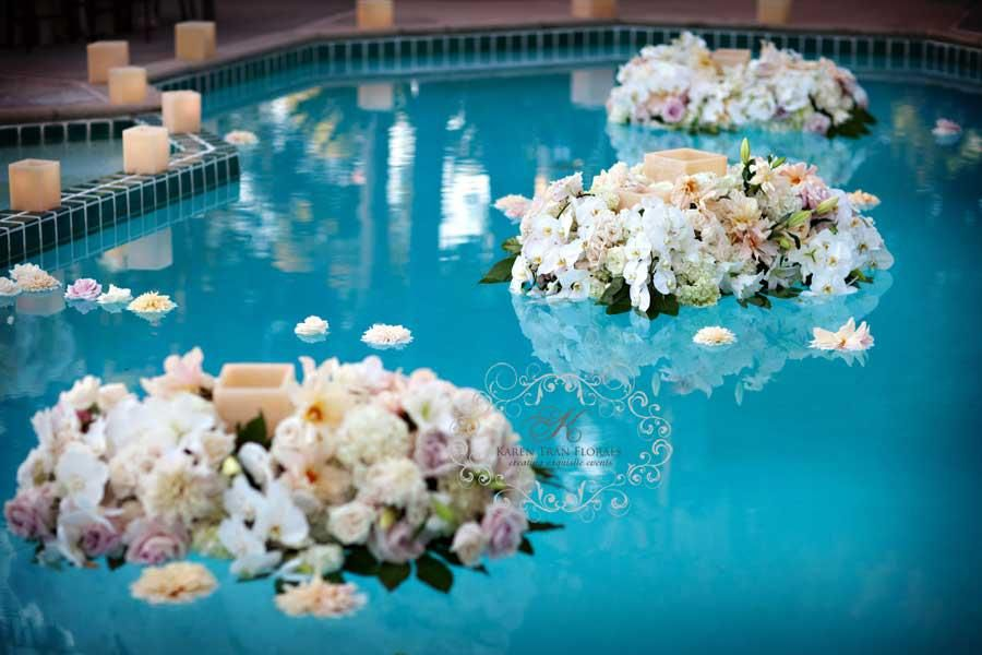 Floating Blooms By Karen Tran Entertaining Inspiration For