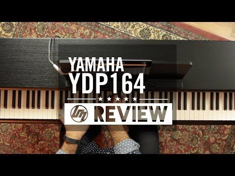 REVIEW Yamaha YDP-164 | Better Music - YouTube | music in
