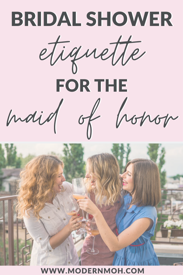 Bridal Shower Etiquette For The Maid Of Honor In 2020 Bridal Shower Questions Bridal Shower Activities Bridal Shower Gifts