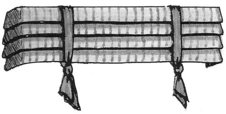 mock roman with belts