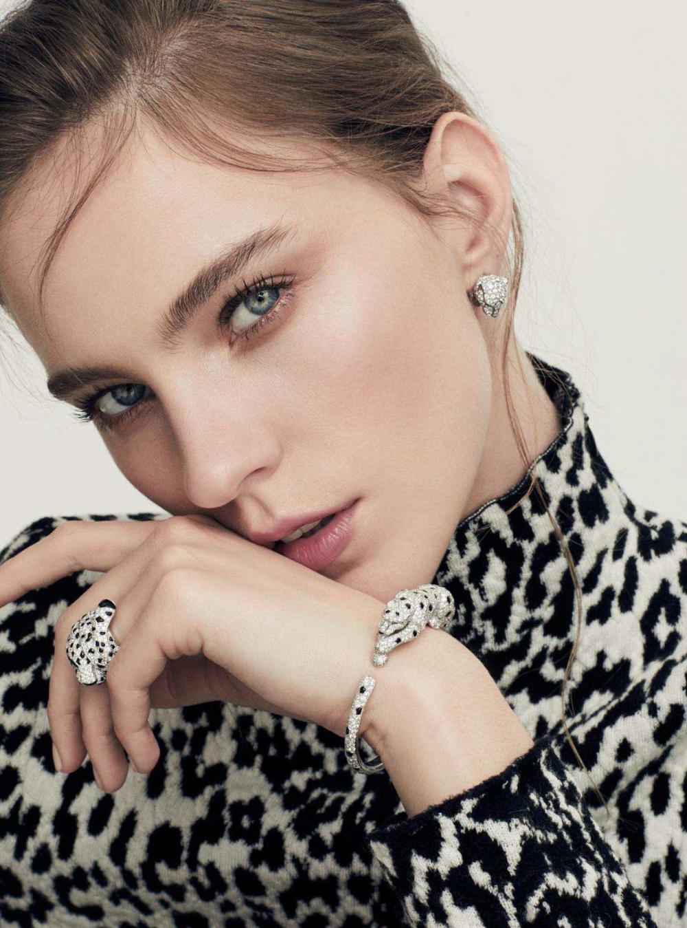 Photo of Nicole Pollard in Harper's Bazaar UK July 2018 by Lara Jade – Jewelry lookbook