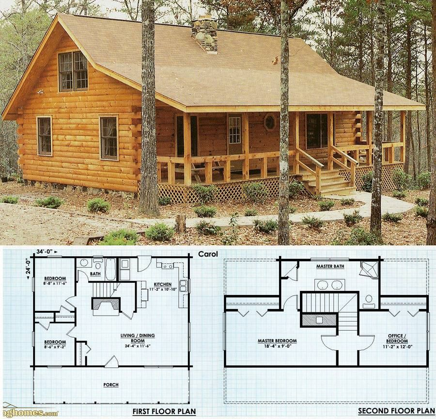 Pin by Darren Beams on Wood ideas in 2019 | Cabin house plans, Log