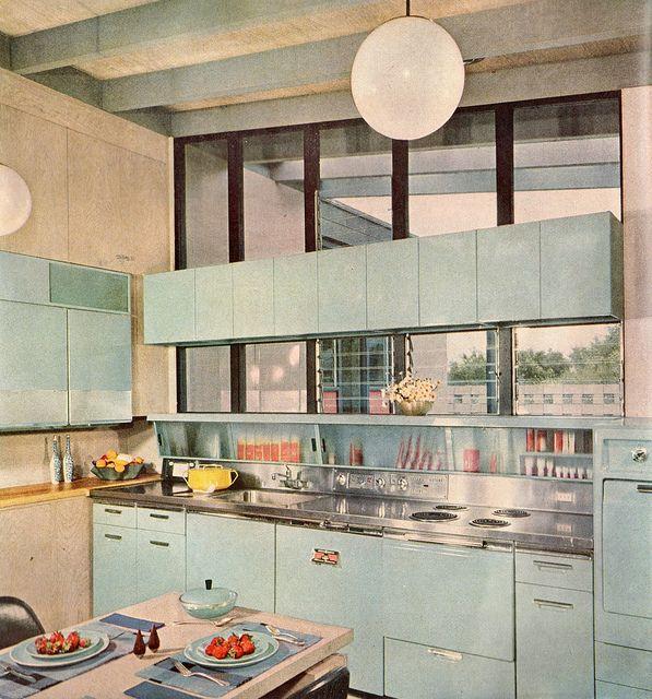 50-60 luvun keittiötyyliä
