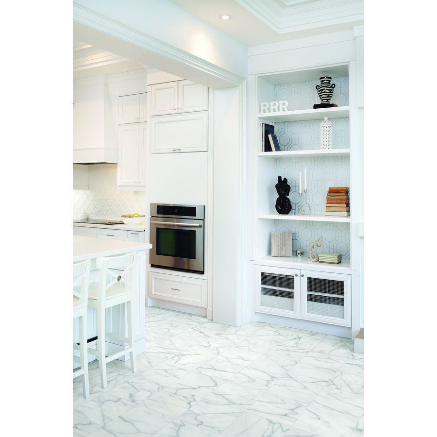 Shop anatolia tile bianco glacier marble floor and wall tile shop anatolia tile bianco glacier marble floor and wall tile common 12 in dailygadgetfo Image collections
