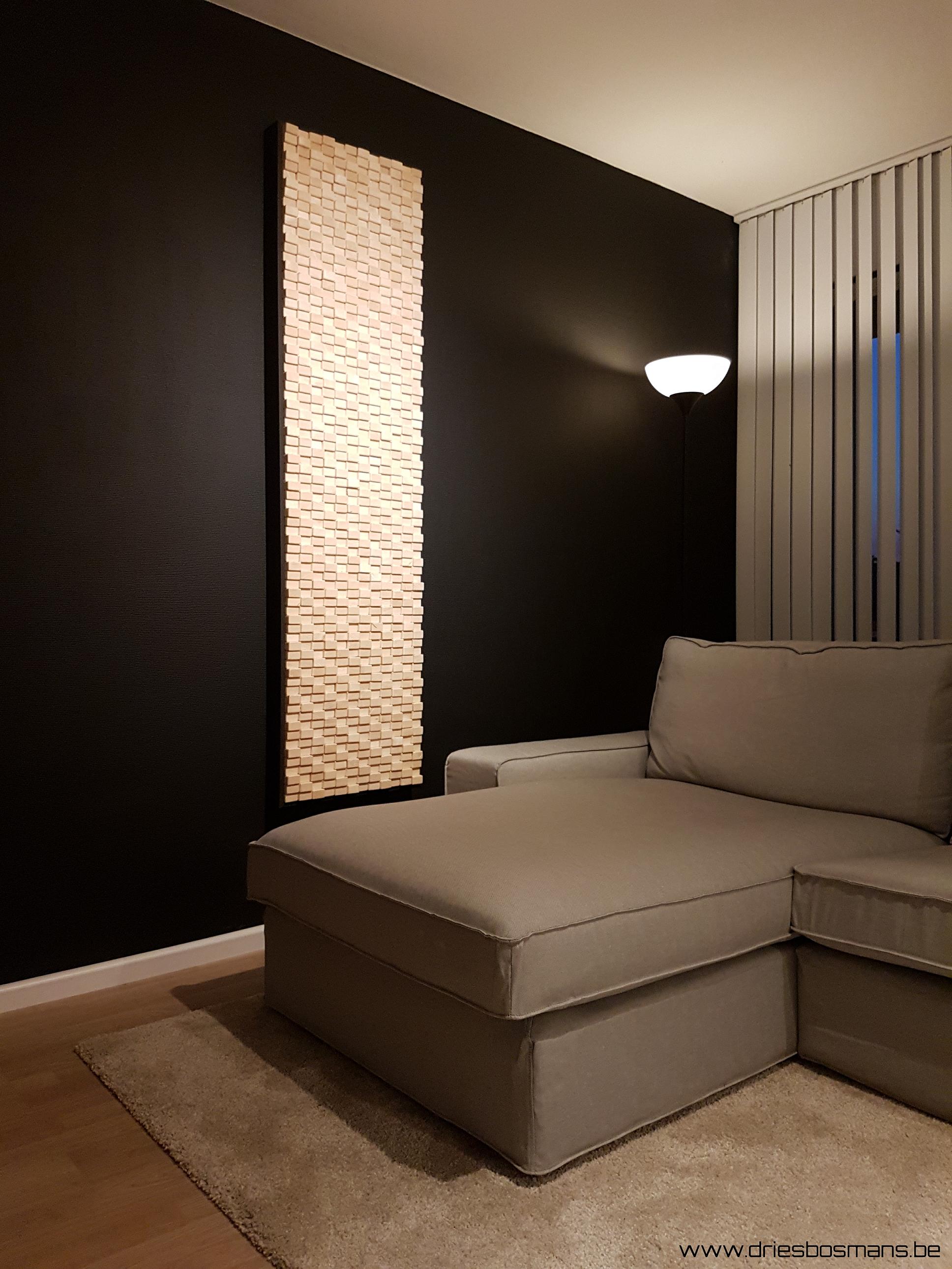 Deze houten design kaders van 3S-Bosmans geven een origineel en ...