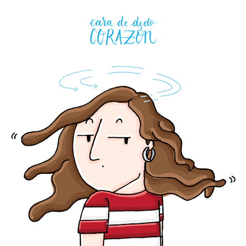 A veces, una mirada habla por sí misma 😒 #pepasastre #ilustracion #miradaspersonalizadas