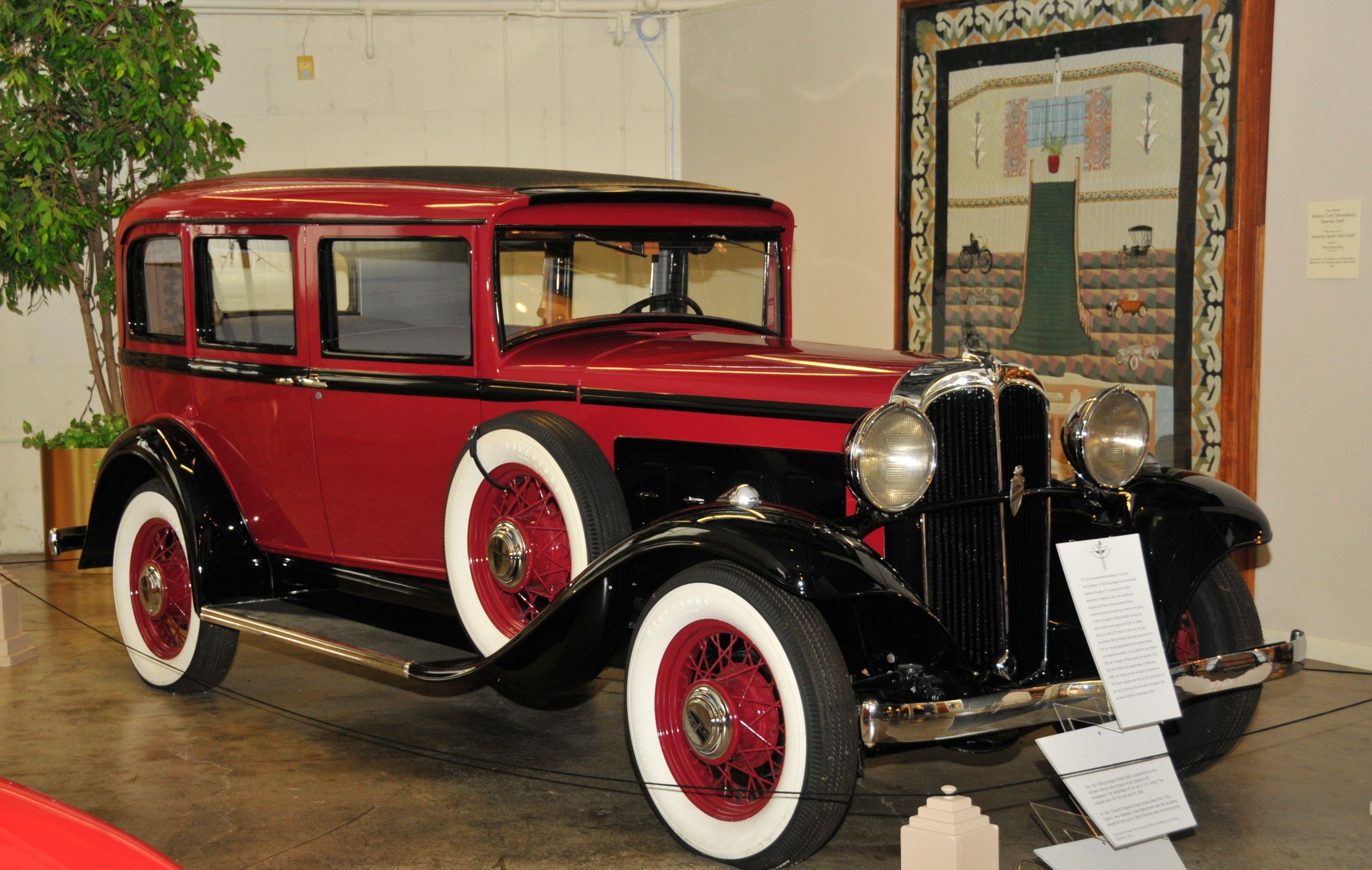 1931 willysknight at the auburn cord duesenberg museum