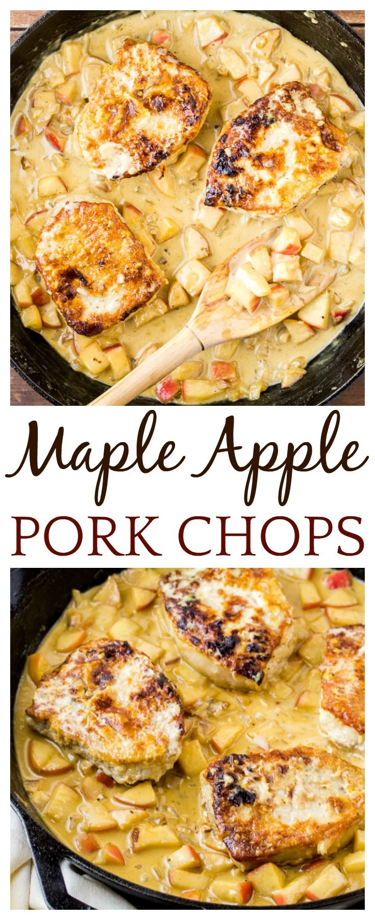 Maple Apple Pork combines some of the season's best flavors into one delicious…