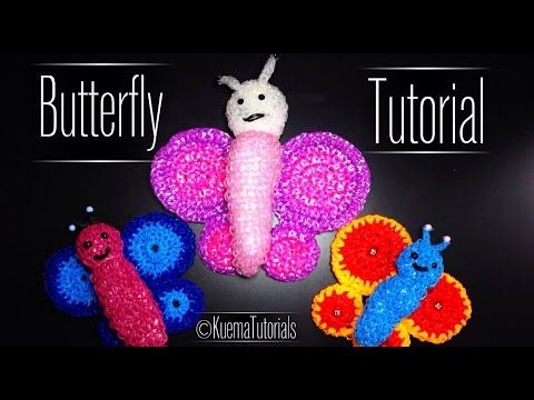 rainbow loom 3d schmetterling | 3dbutterfly - youtube