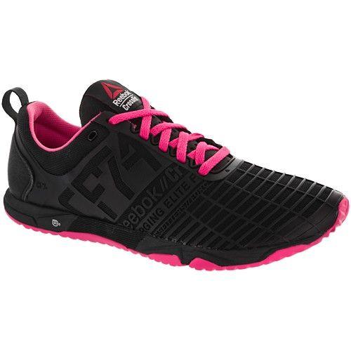 reebok black trainers womens