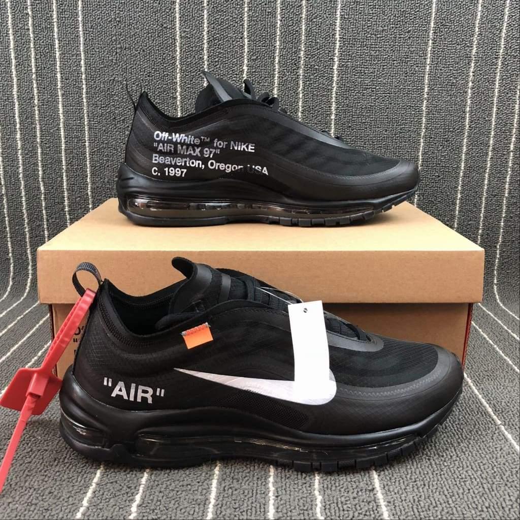 new product f8082 0f15b Off-White Nike Air Max 97 Black  AJ4585-001