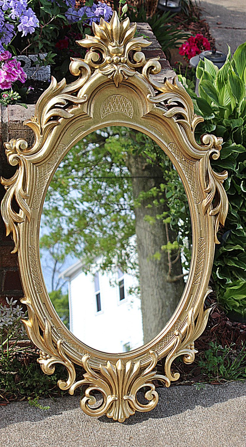 Wilko baroque mirror silver 87x62cm - Gorgeous Mirror Syroco Gold Beautiful Ornate Mirrors Match With Other Pieces Of Syroco Or