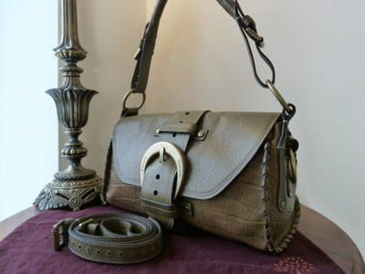 d4a437f1b9 Mulberry Pasadena in Olive Kenya Leather - SOLD