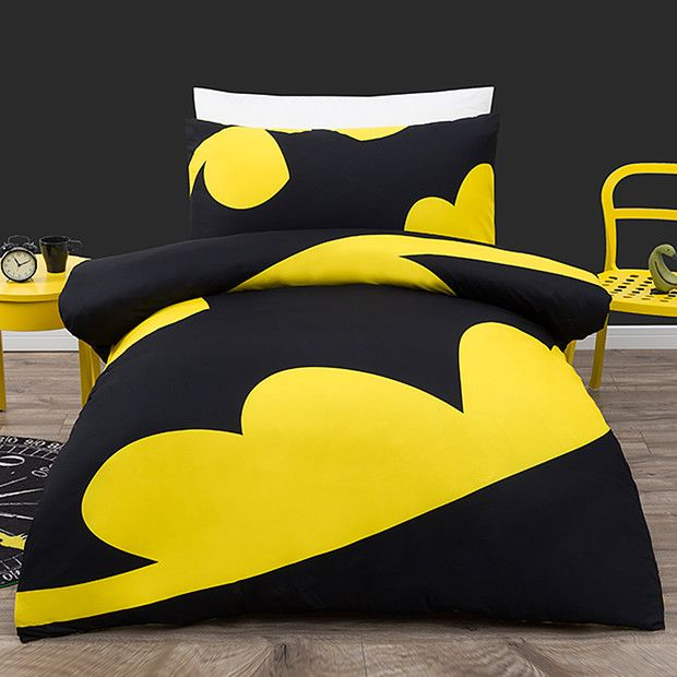 Batman Logo Quilt Cover Set Quilts Pinterest Quilt Cover And - Batman dark knight bedding
