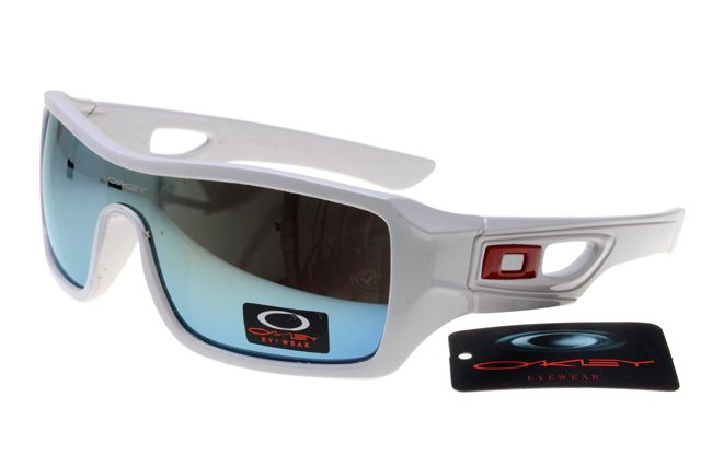 Oakley Dispatch Sunglasses White Frame Colorful Lens B260 [OK339] - $20.68  : Top Ray