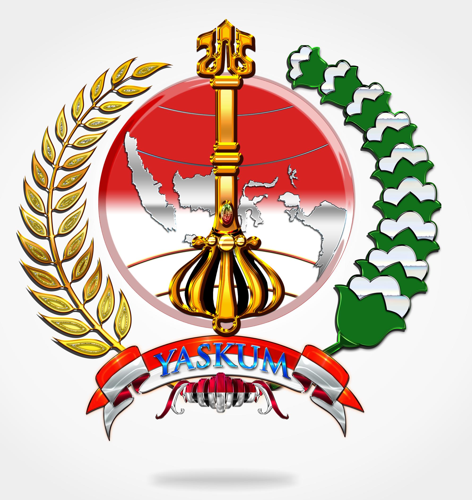 Logo Yaskum Indonesia Indonesia Desain Hantu