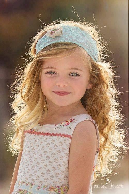 Blue Eyed Beauty Beautiful Children Cute Kids Little Girl