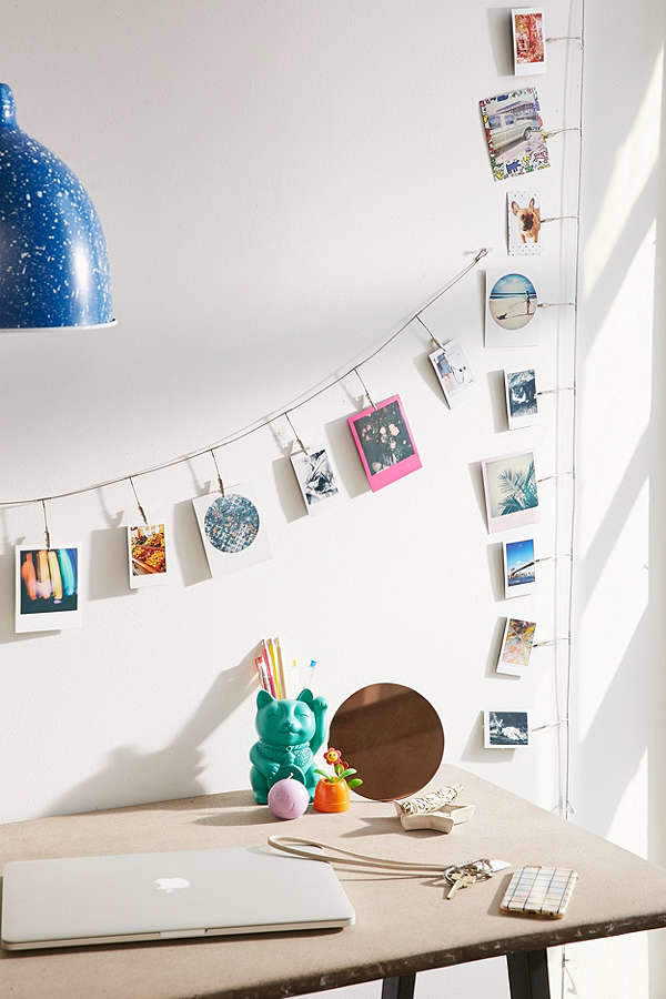 Metal Photo Clips String Set   For my office   Pinterest   Dorm room on